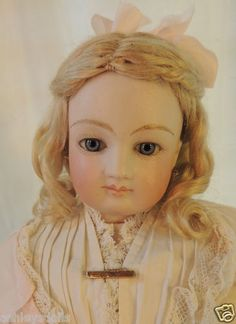 """17"""" Barrois French Fashion with Signed Shoulder Plate, Antique French Doll, Ashley's Dolls & Antiquities"""