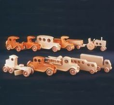 29-QEVC - Quick and Easy Vehicle Collection Woodworking Plan