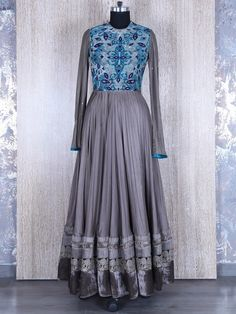Trendy And Stylish Gown Style Gray Salwar Suit . View more collection at g3fashion.com To buy or for Price Whatsapp +91-9913433322. #g3+ #fashion #traditional #ethnic #ootd #fashion #makeup r #lehenga #saree #sari #jewellery #jewelry #asian #asia #bollywoodsaree #bollywod #silksaree #pink #wedding #weddingphotography #asianwedding #asianbride #bridal #bride #weddingbells