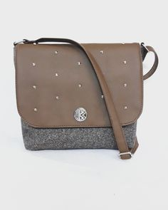 Handmade collection by kk bags Messenger Bag, Brown, Handmade, Bags, Collection, Fashion, Taschen, Handbags, Moda