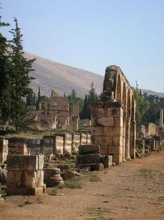 Anjar, Lebanon - Connecting the two major trade routes, one Beirut to Damascus and the other crossing the Bekaa and leading from Homs to Tiberiade. Anjar was founded during the Umayyad period under Caliph Walid Ibn Abd Al-Malak (705-715), the city of Anjar is a great witness to the history of the Umayyad civilization.