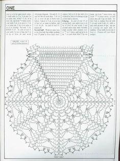Best 12 (есть ещё Decorative Crochet Magazines n° 34 – tristanime – Picasa Web Albums Crochet Dollies, Crochet Doily Patterns, Crochet Diagram, Crochet Chart, Thread Crochet, Crochet Motif, Crochet Designs, Crochet Stitches, Crochet Baby
