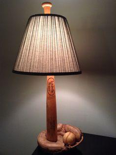Pottery Barn Knock Off - Baseball Lamp and Shade Tutorial ...
