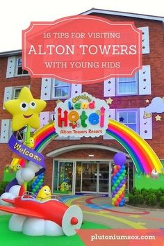 Alton Towers Theme Park and cBeebies Land Hotel Days Out With Toddlers, Travel With Kids, Family Travel, Children And Family, Young Children, Family Days Out, Family Life, Uk Holidays, Activities For Kids