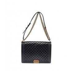 Chanel Le Boy Black Shoulder Bag