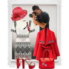 Photograph/Fotograf by ragnh-mjos on Polyvore featuring moda, Topshop, Chicnova Fashion, Penny Loves Kenny, Hadaki, Brooks Brothers, R.J. Graziano and fashionset