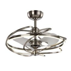 Retractable Ceiling Fan Dimmable Led Foldable Blade Modern Chandelier With Light Blades