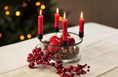 #Kremmerhuset #advent #adventsstake #rød #jul #julepynt