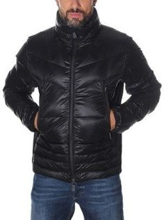 Moncler Men's Black Polyamide Down Jacket.