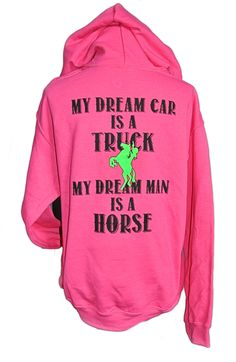"Dream Man Horse Hoodie is here for you - if you're like me and your dream man is your best horse. :) Featuring ""dream man"" quote on the back and my Cowgirl Way logo on the front. Made with the finest Equestrian Boots, Equestrian Outfits, Equestrian Style, Equestrian Fashion, Equestrian Problems, Cowgirl Fashion, Cowgirl Outfits, Look Casual, Casual Chic"