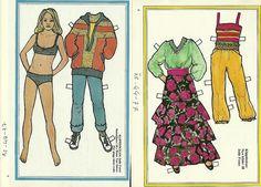 Jodie Foster Movie TV Star Bikini Vintage Paper Doll | eBay