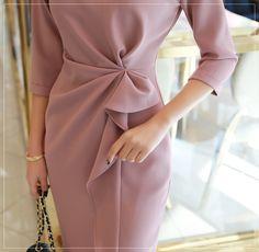 Korean Women`s Fashion Shopping Mall, Styleonme. Elegant Party Dresses, Dressy Dresses, Short Dresses, Couture Dresses, Fashion Dresses, Women's Fashion, Korean Girl Fashion, Cocktail Outfit, Work Dresses For Women