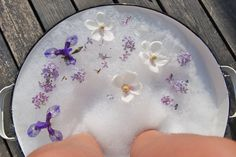 most lovely foot soak