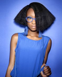 Afro crimped bob by Kim Johnson, Hype Coiffure - afro hairstyles by ghd African Hairstyles, Afro Hairstyles, Big Hair Dont Care, Hair Care, Ghd Hair, Crimped Hair, Afro Style, Wig Making, Hair Affair
