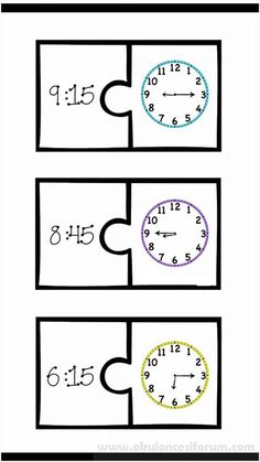 telling time games to help kids practice telling time on both a digital and anlog clock Clock Games For Kids, Math For Kids, Puzzles For Kids, Kids Clocks, Teaching Time, Teaching Math, Maths, 1st Grade Math, Kindergarten Math