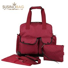 2015 Fashion Multifunctional Handbag / Backpack Baby Diaper Bags 3Pcs For Mom Tote Baby bag High quality Nappy Bag-in Diaper Bags from Mother & Kids on Aliexpress.com | Alibaba Group BLACK $40