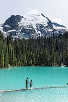 Middle Joffre Lake, Slalok Mountain, Stonecrop Glacier, Joffre Lakes PP, British Columbia, Canada. | portfolio.photoseek.com