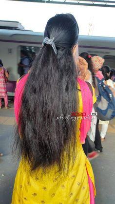Long Silky Hair, Long Black Hair, Thick Hair, Indian Hairstyles, Braided Hairstyles, Cool Hairstyles, Beautiful Bollywood Actress, Beautiful Indian Actress, Beautiful Long Hair