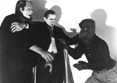 Frankenstein, Dracula and the Wolfman
