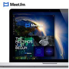 Meet.fm : Crea salas de encuentro virtuales para tu negocio, amigos o familia