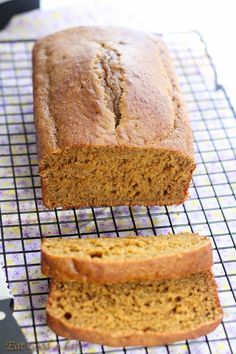 """Low-fat pumpkin bread: made it and it was light, a little spongy but for a """"healthy dessert"""" it was satisfying. No oil or butter either. Will make it again"""