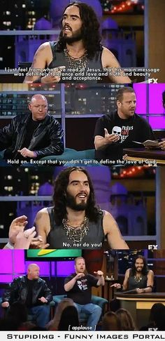 Russell Brand and the Westboro Baptist Church