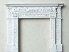 "An image of <p>A traditional Victorian cast iron fireplace, suitable for larger rooms. It can be used with brickback BB3, brickback grate BBGEB or inserts INSB and INSB2. Internal opening 2 7/8h x 2 7/8""w, 73h x 73mm w</p>"