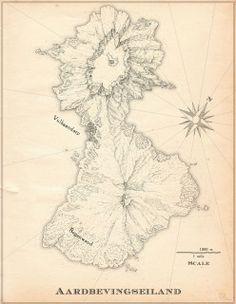 Volcano Island-Map series