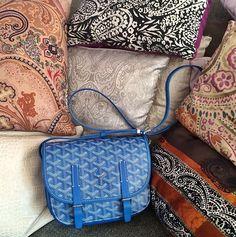Gorgeous Goyard bag via Chiara Ferragni