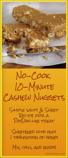 Easy gluten-free recipe when you're craving a little something that's salty and sweet!