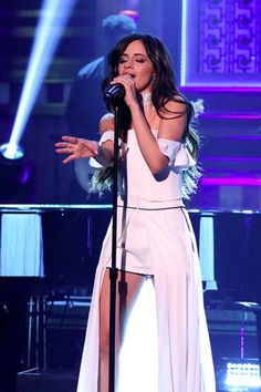 """Watch Camila Cabello and Machine Gun Kelly Perform """"Bad Things"""" on The Tonight Show"""