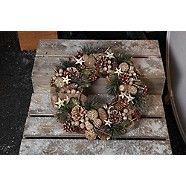 Noma Stars and Pine Cone' Christmas wreath- at Debenhams.com