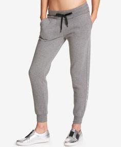 Dkny Sport Brushed-Jersey Soft Jogger Pants - White XL