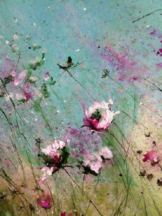 ❀ Blooming Brushwork ❀ garden and still life flower paintings - Laurence Amelie