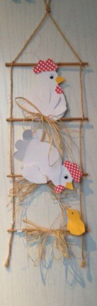 Wall Diy And Crafts, Crafts For Kids, Arts And Crafts, Chicken Art, Diy Ostern, Holidays And Events, Easter Crafts, Preschool Activities, Happy Easter