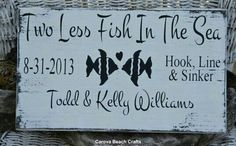 Perfect present for my best fishing couple friends