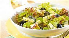 Šalát so salámou | Kuchyňa Lidla Lidl, Fruit Salad, Cobb Salad, Pasta Salad, Potato Salad, Appetizers, Cooking Recipes, Ethnic Recipes, Food