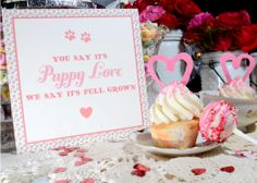 Puppy Love Valentine's Day Shoot / Paper by Darby Cards