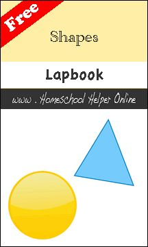 Free Shapes Lapbook - Homeschool Helper Online