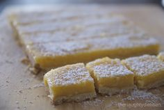 This Lemon Curd Slice is gluten free version of Meyer lemon bars (or slice as we like to call it in Australia). These bite size treats won't disappoint.