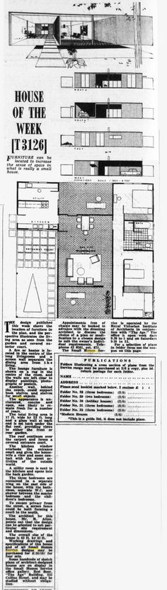 https://flic.kr/p/8K3iMi | T3126 | The Age - House of the Week (1965)