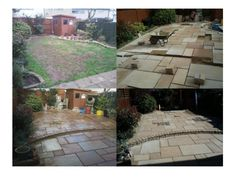 Bradstone Sandstone Paving :: Installation by Oakfield Landscaping 2012