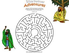 A maze activity for kids from the story, Swallowed By A Fish.