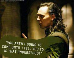 Loki's Dirty Whispers - Studying Motivation Loki Marvel, Loki Thor, Tom Hiddleston Loki, Loki Laufeyson, Loki Avengers, Loki Art, Filthy Girls, Loki Whispers, Loki Imagines