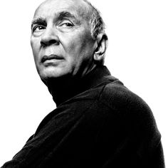 Frank Langella (1938) - American stage and film actor. Photo by Platon