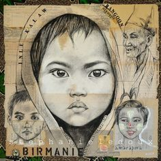 """Stéphanie Ledoux - Travel diaries: """"Kalaw"""" and """"Taw Yu Wa"""" Amazing Drawings, My Drawings, Art Fantaisiste, Travel Sketchbook, Ledoux, Pastel Portraits, Abstract Portrait, Whimsical Art, Beautiful Paintings"""