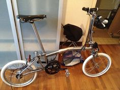 Brompton chrome | Shared from http://hikebike.net