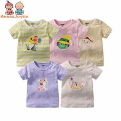 5Pcs/lot Cotton T-shirts Boy Short Sleeve Baby Tops Tees Infant Girl Shirts Carton Print Kids Boy Summer Clothes Suit 3-24M  24.99 and FREE Shipping  Tag a friend who would love this!  Active link in BIO  #computers #electronics #home #garden #LED #mobiles #fashion #jewellery #toys #bargain #coolstuff #headphones #auto #gifts #healthcare #office #fun #gadgets Boys Summer Outfits, Summer Boy, Summer Clothes, Shirts For Girls, Girl Shirts, Boy Shorts, Kids Boys, Baby Tops, Infant