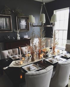 Sarah Knuth: Our dining room is Christmas ready! I'm so excited to host Christmas this year! ✨#knuthkrib #decor #homedecor #christmasdecor