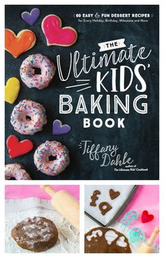 The Ultimate Kids' Baking Book is the perfect Christmas gift idea for kids! 60 easy and fun dessert recipes kids can bake for their families all year long. Check out the sample gingerbread cookie recipe that is written just for kids! Easy Gingerbread Cookie Recipe, How To Make Gingerbread, Gingerbread Cookies, Gingerbread Houses, Best Dessert Recipes, Cookie Recipes, Baker Recipes, Desserts, Ginger Bread Cookies Recipe